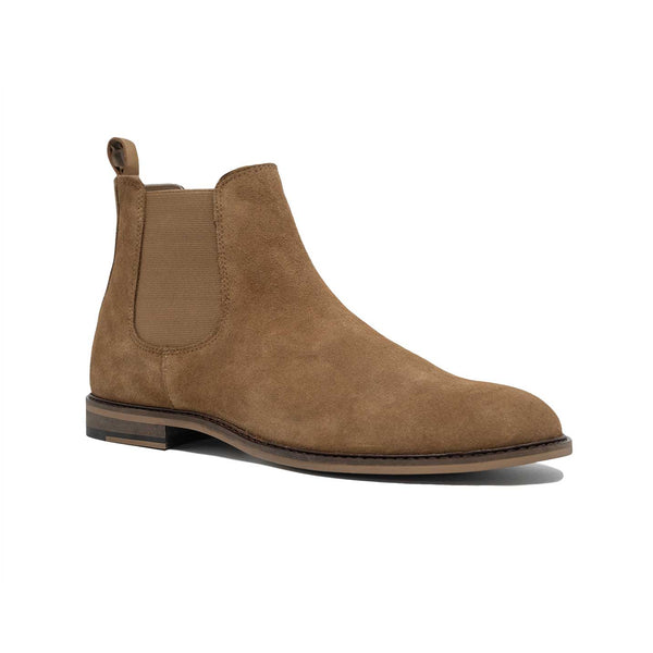 WALK London Carter Chelsea Boot Tan Suede