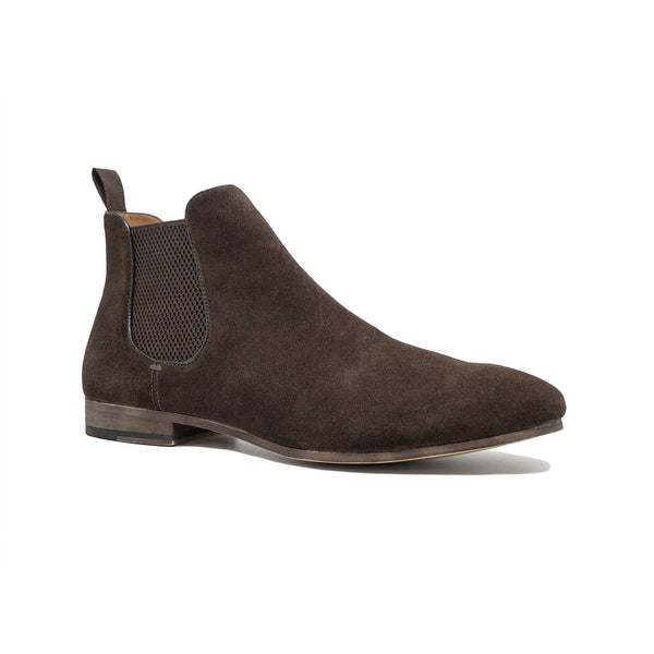 Men's Brown Suede Chelsea Boot