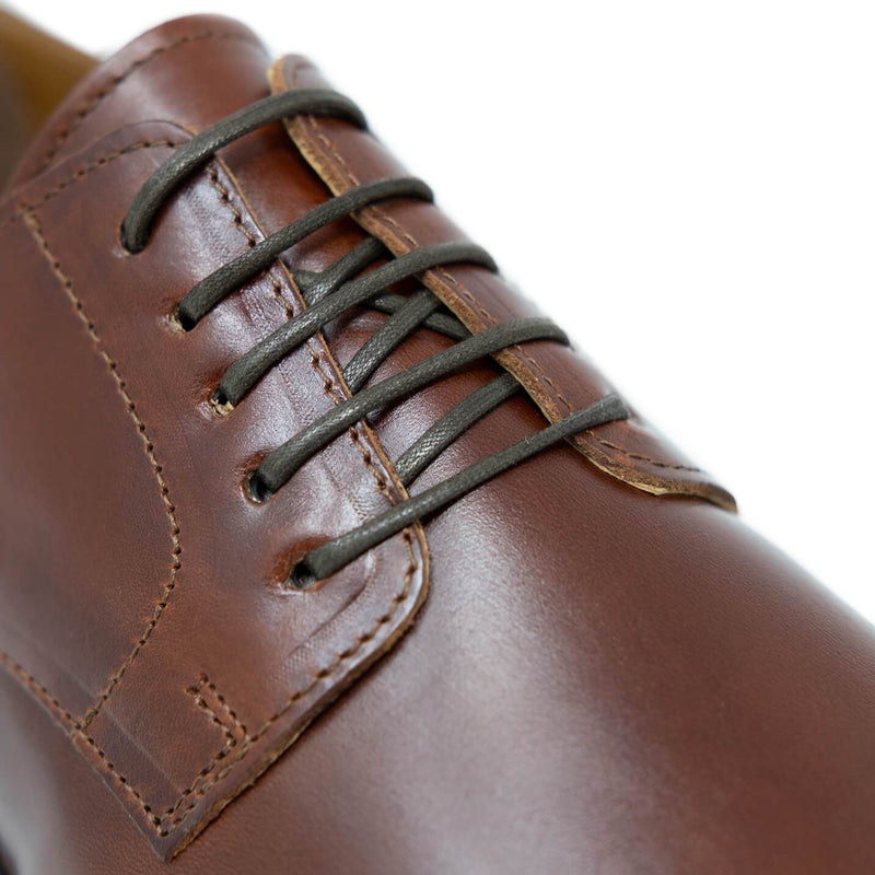 Walk London Craven Derby Shoe in Tan