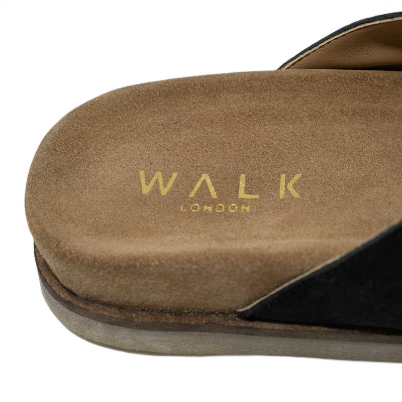 Cushioned Footbed with Gold Foil Walk London Branding