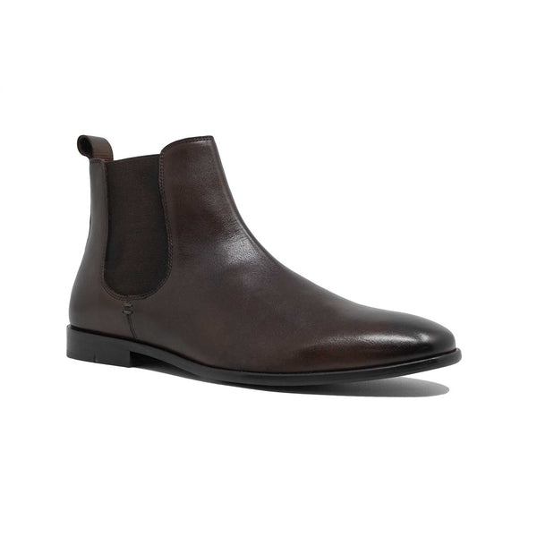 Men;s Brown Leather Chelsea Boot