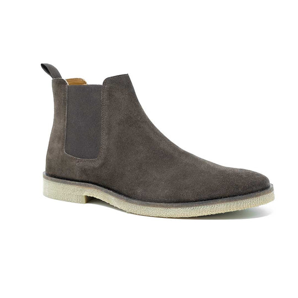 WALK London Hornchurch Chelsea Boot Brown Suede
