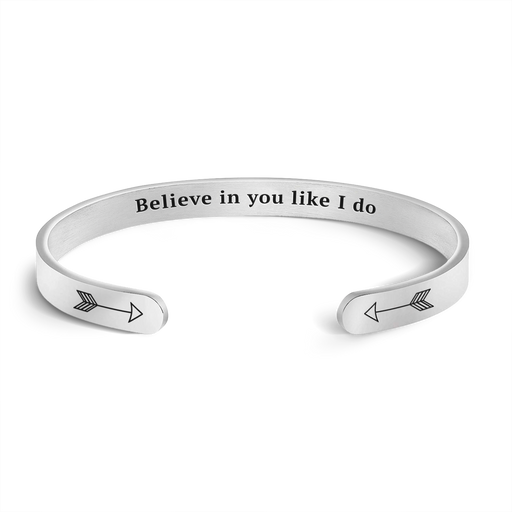 Believe in You Like I Do Bracelet