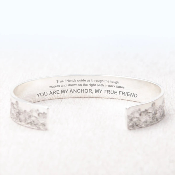 YOU ARE MY ANCHOR, MY TRUE FRIEND NEW BRACELET