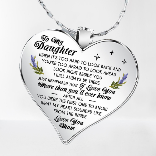 To my Daughter Necklace - I love you