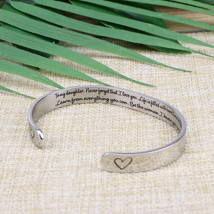 Be the woman I know you can be bracelet