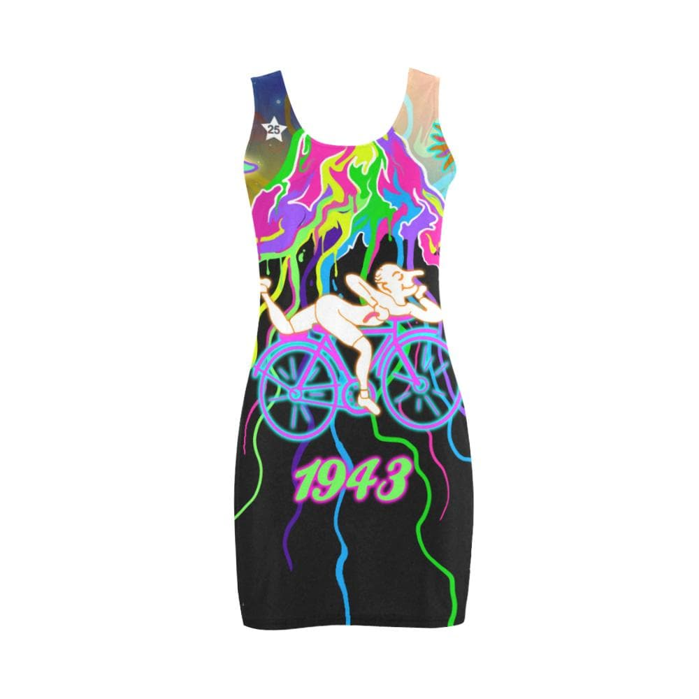 BICYCLE DAY Bodycon Dress - Utopik