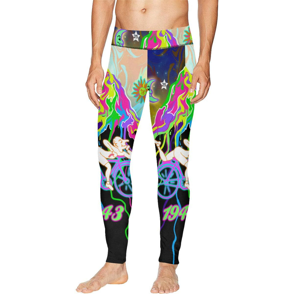 BICYCLE DAY Meggings Leggings for Men (L38) Utopik