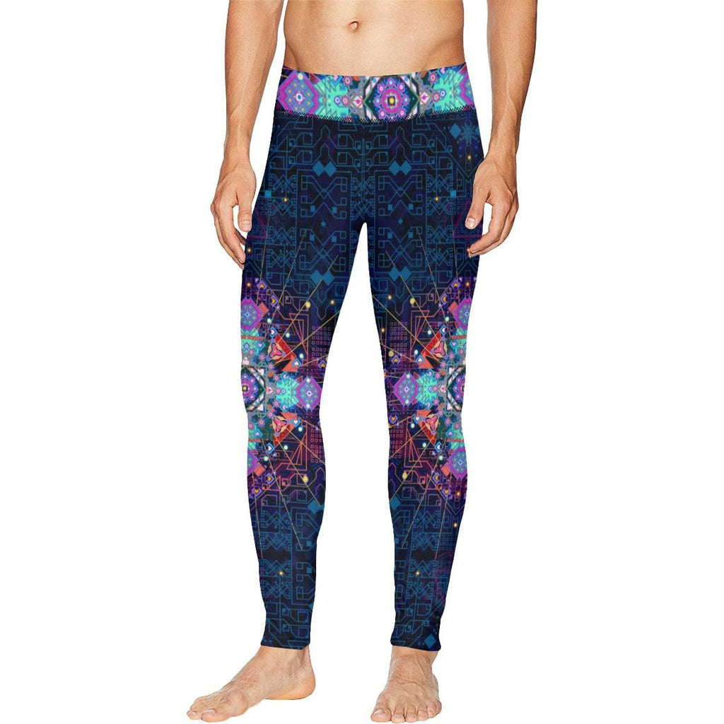CELESTIAL CIRCUITRY Meggings - Utopik