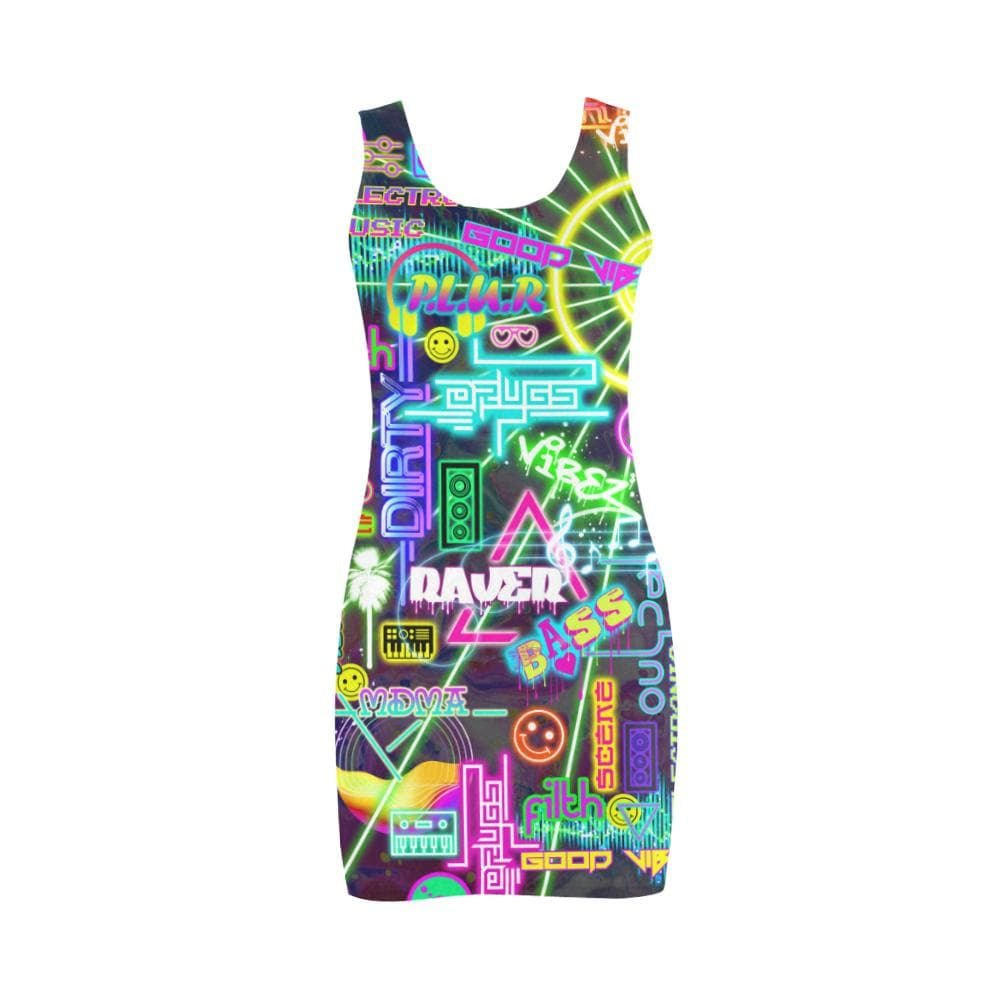 RAVE SCENE Bodycon Dress - Utopik