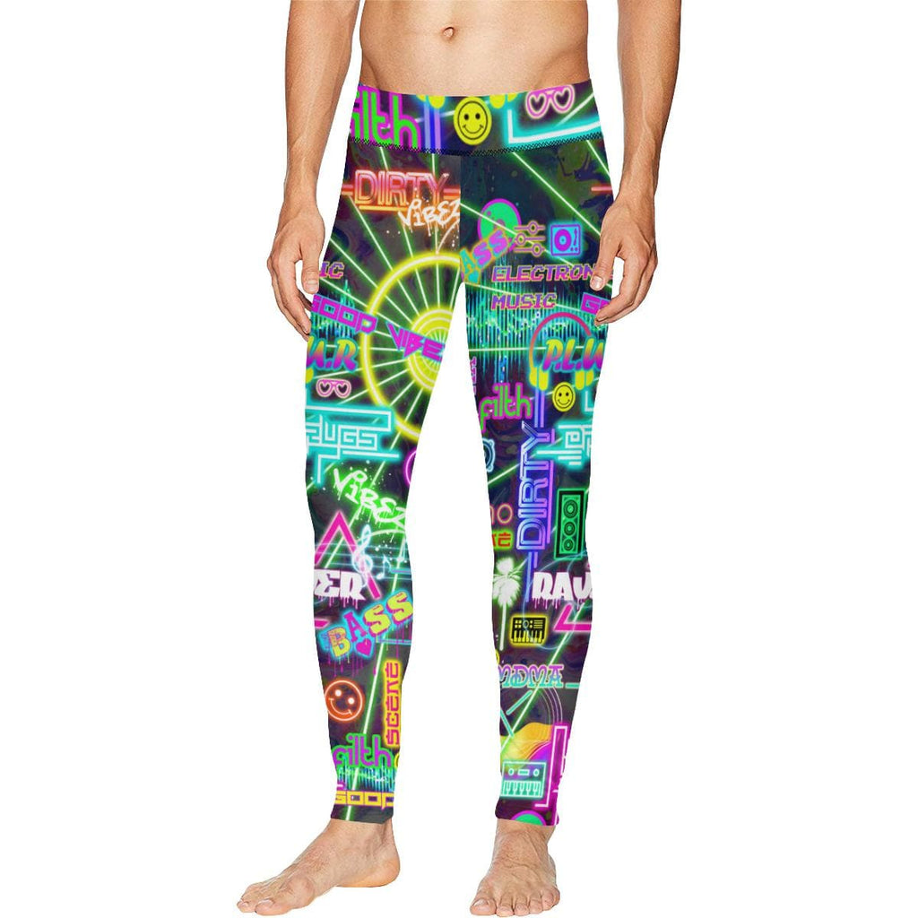 RAVE SCENE Meggings - Utopik