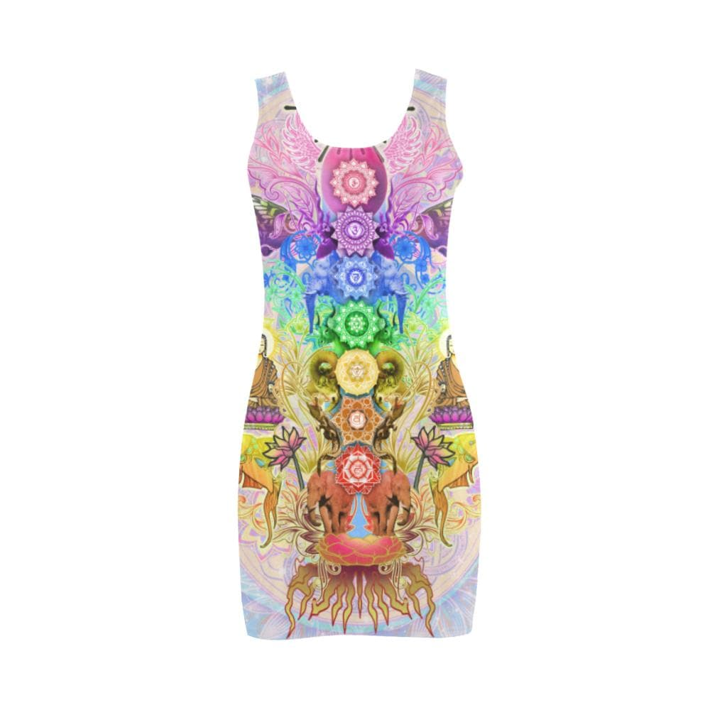 SEVEN CHAKRAS Bodycon Dress - Utopik