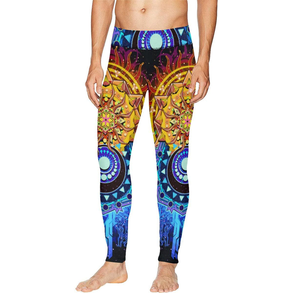 SUN AND MOON Meggings Leggings for Men (L38) Utopik