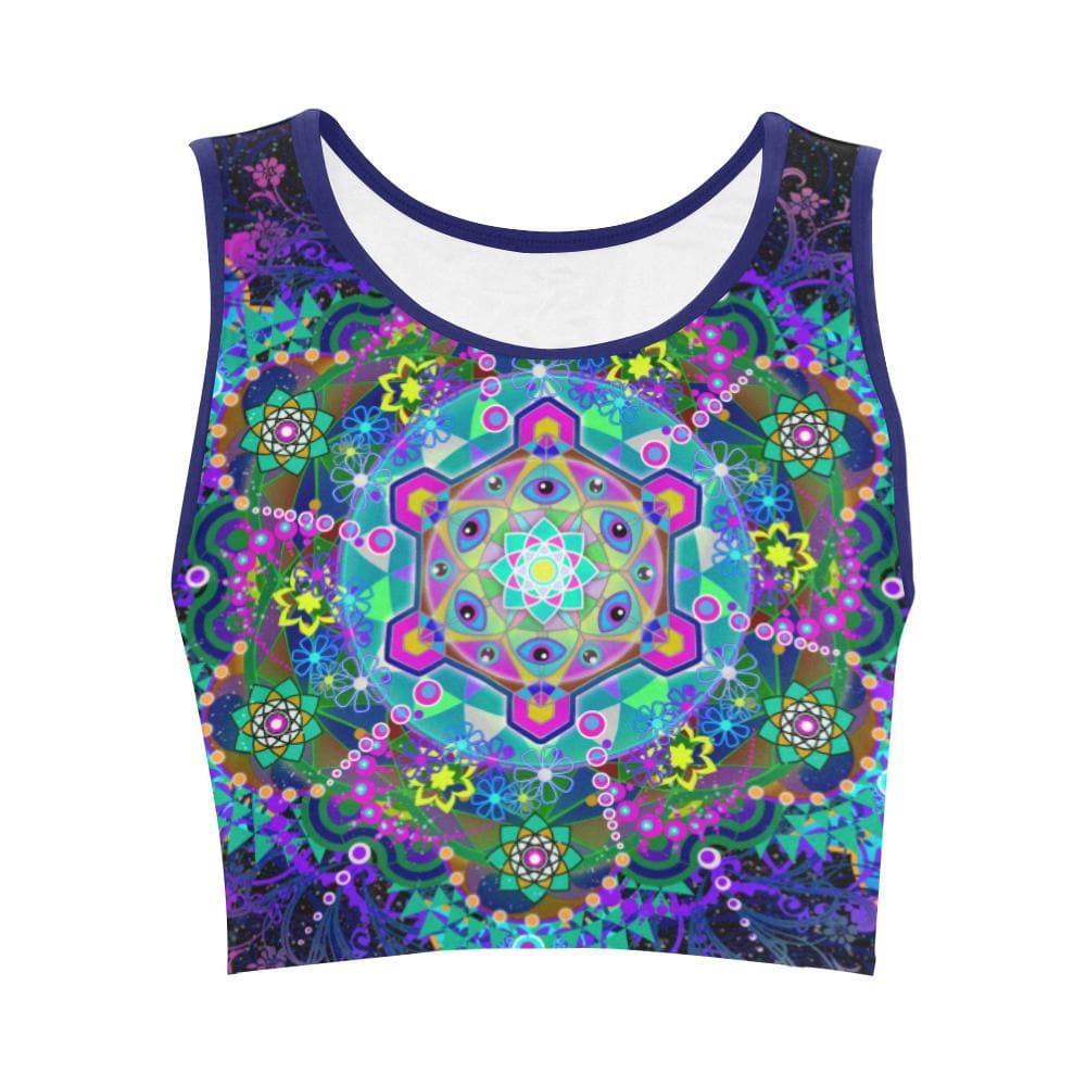 METATRON'S TRIP Crop Top - Utopik