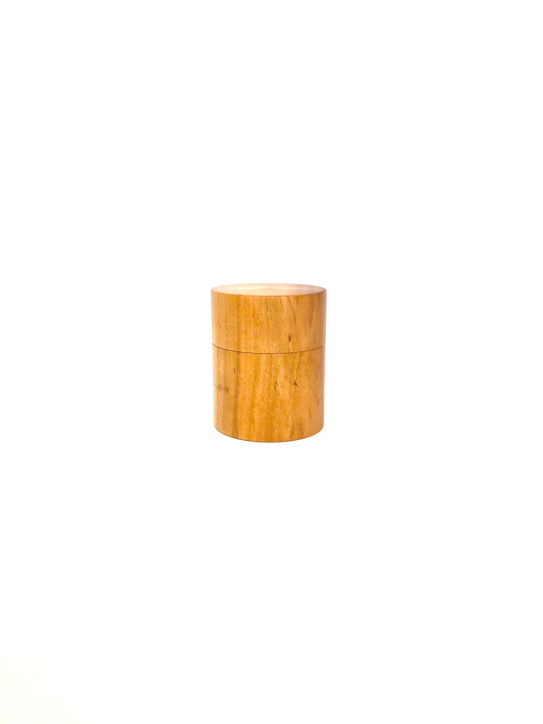 Japanese Handcrafted Wooden Mini Tea Caddy Cherry
