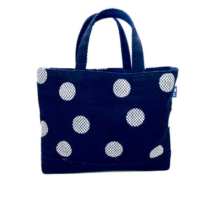 Indigo dyed Japanese Traditional Sashiko Tote Bag - 藍染め刺し子トート