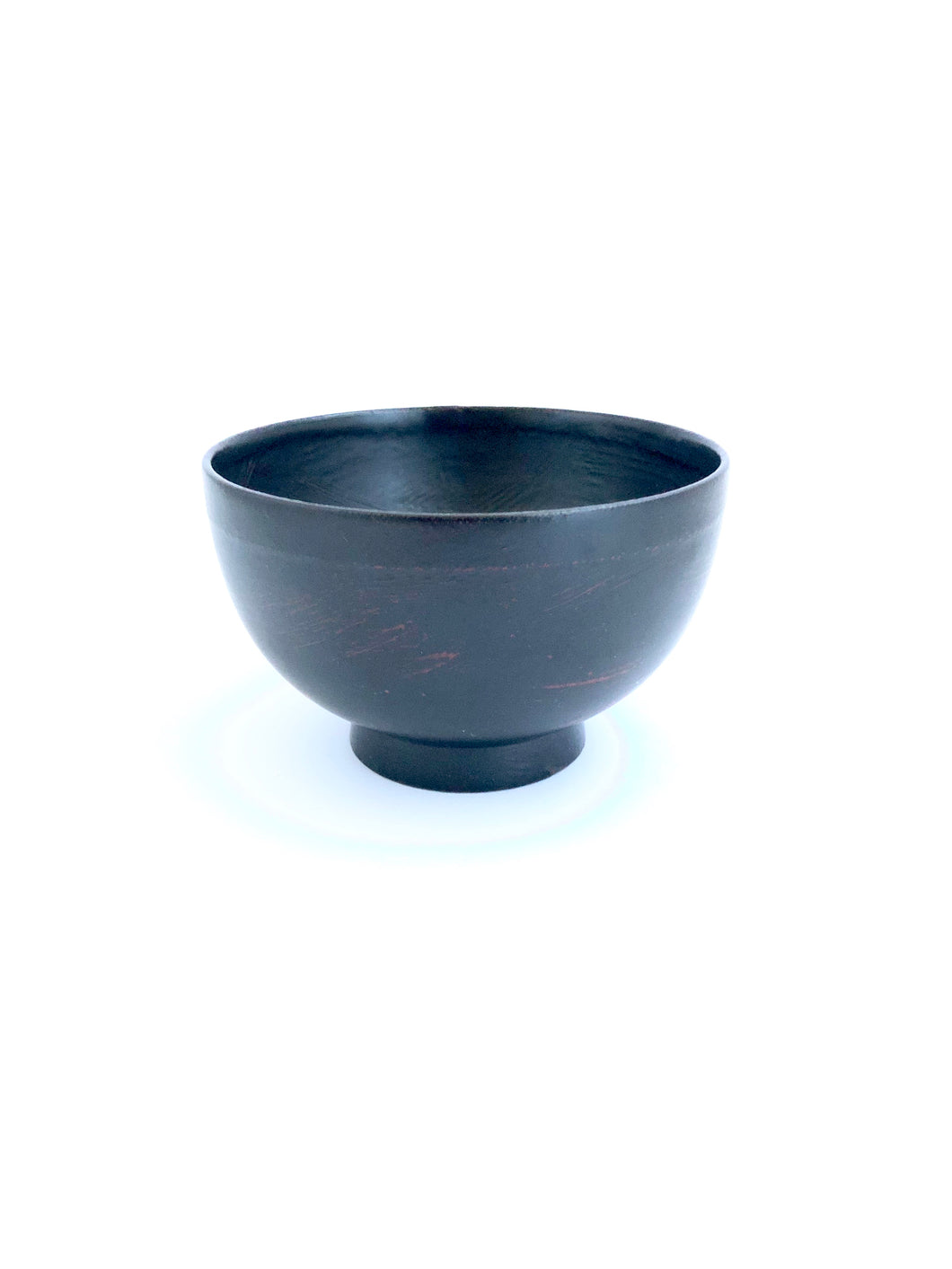 Japanese Lacquered Miso Soup Bowl