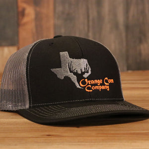 Orange Corn Company Caps