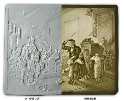 3D Photography Lithophanes - What is a Lithophane?