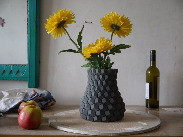 Honeycomb Vase - Collections
