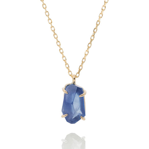 Naked Sapphire single Necklace
