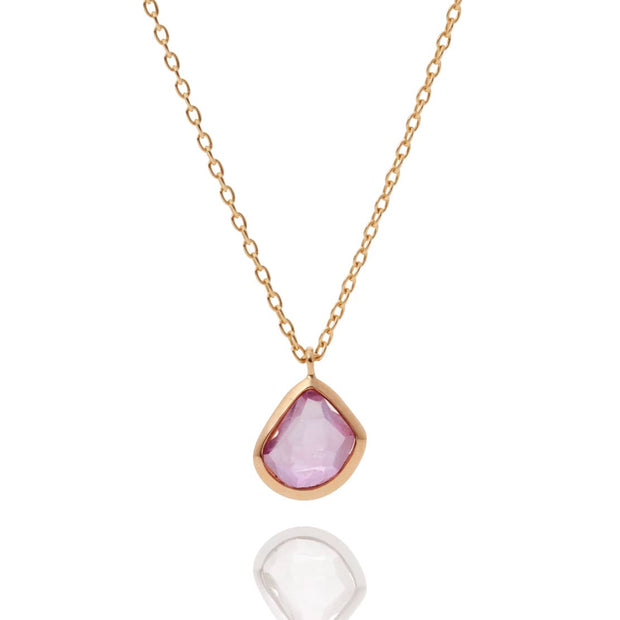 Naked Ruby(single) Necklace