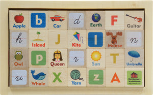 Letter Picture Blocks