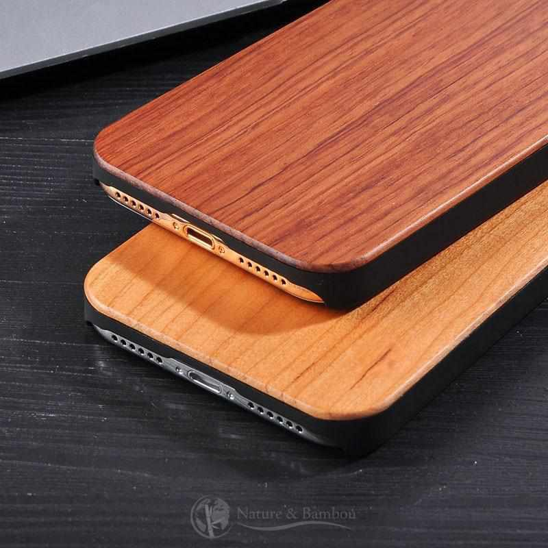 Coque pour Iphone en Bois Rosewood-Iphone X-Nature & Bambou