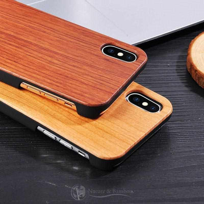 Coque pour Iphone en Bois Rosewood-Iphone 8-Nature & Bambou