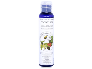 huile de massage coco ylang | Nature & Bambou