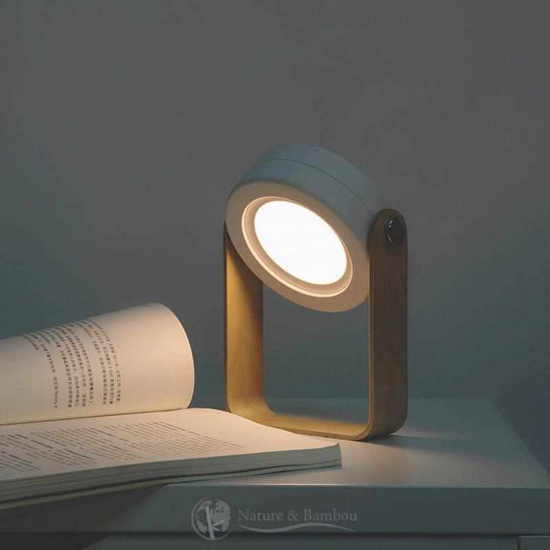 Lampe Réversible en Bambou | JAPAN Design-Lampe de chevet-Nature & Bambou