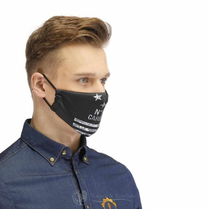 Masque de Protection Réutilisable <br> Danger Radiation