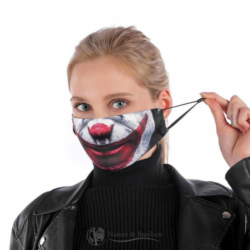 Masque de Protection Réutilisable Joker-Joker-Nature & Bambou