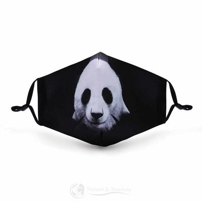 Masque de Protection Réutilisable Panda Mischa-Panda Mischa-Nature & Bambou