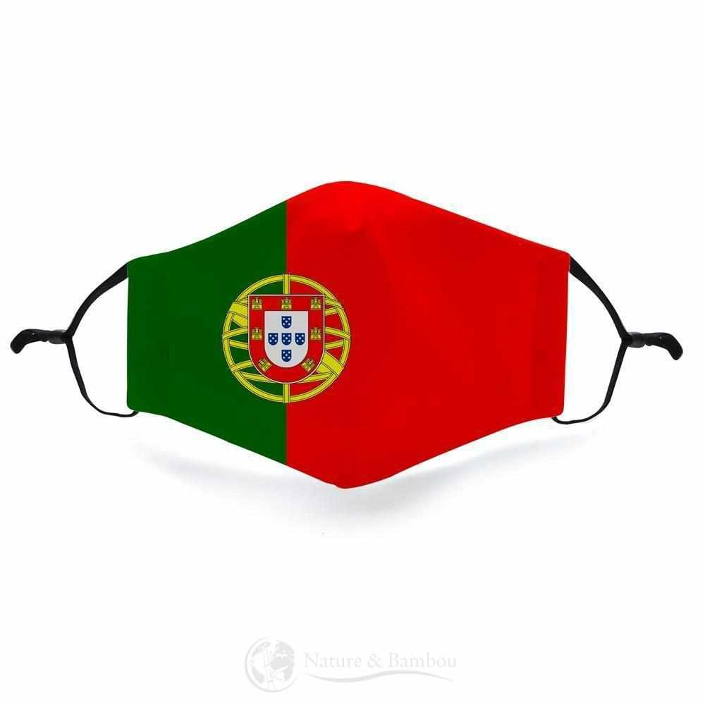Masque de Protection Réutilisable <br> Portugal