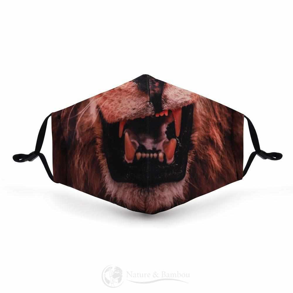 Masque de Protection Réutilisable Vie de Lion-Vie de Lion-Nature & Bambou