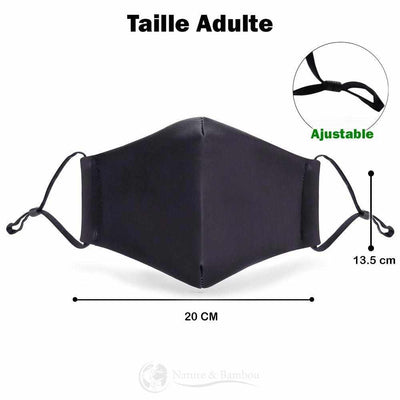 Masque de protection taille adulte | Nature & Bambou