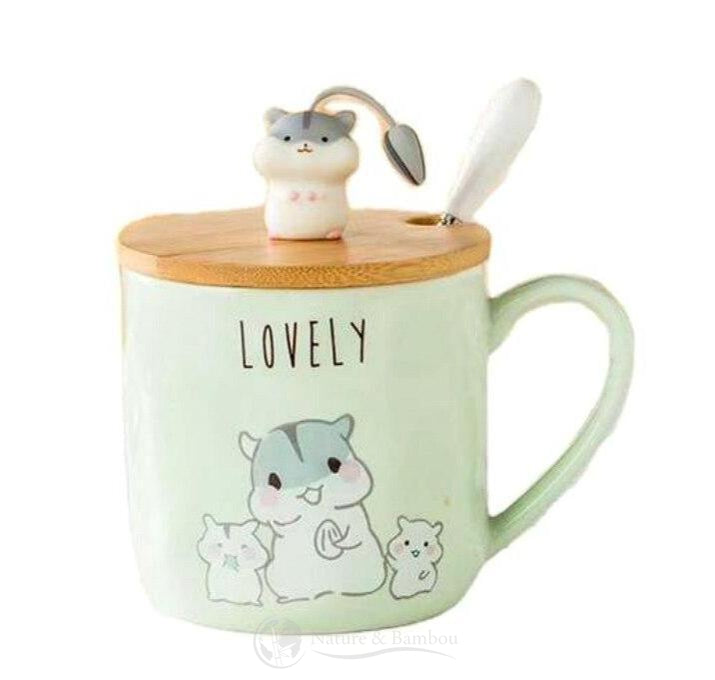 Mug en Bambou <br> Be Happy