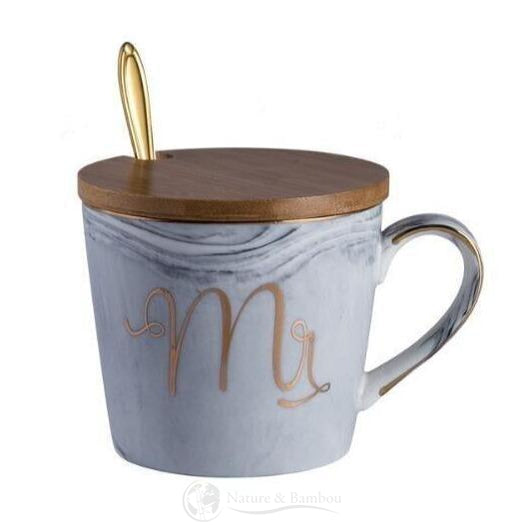 Mug en Bambou <br> Mr & Mrs