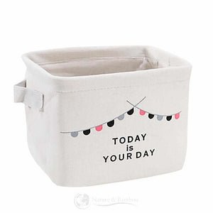 Rangement pour Enfant en Fibre de Bambou-Today Is Your Day-Nature & Bambou