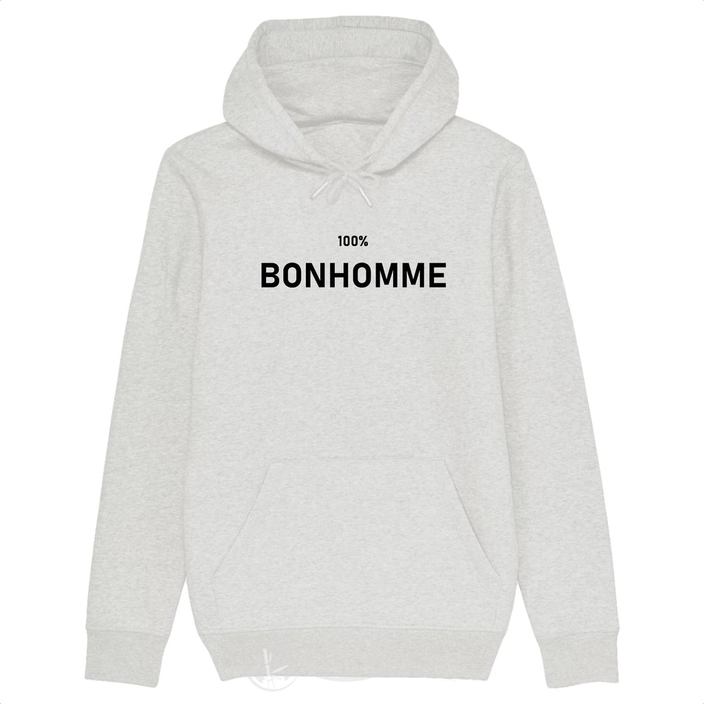 Sweat Bio - 100% Bonhomme-Blanc Chiné-XS-Nature & Bambou