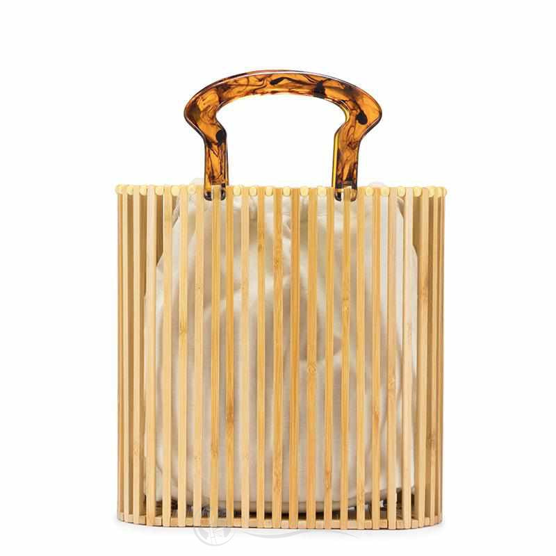 Sac Bucket en Bambou <br> VINTAGE Light