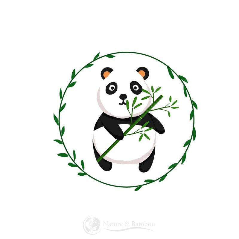 Sticker Bambou Panda Peace