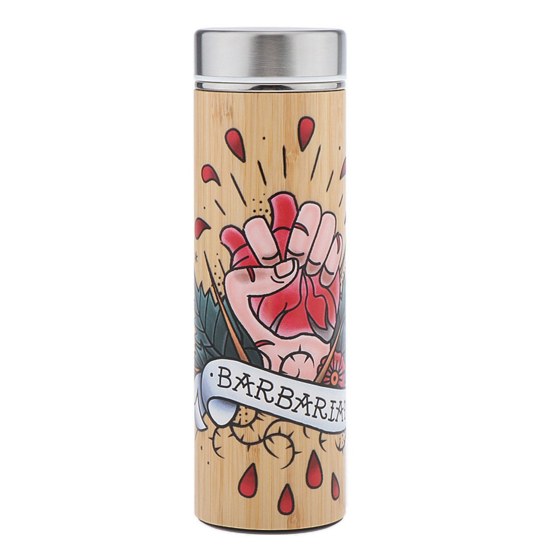 Thermos en Bambou <br> Barbarian Design