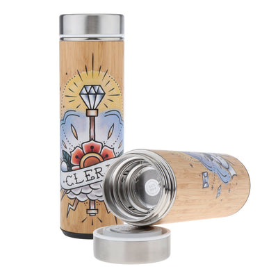 Thermos en Bambou Cleric Design