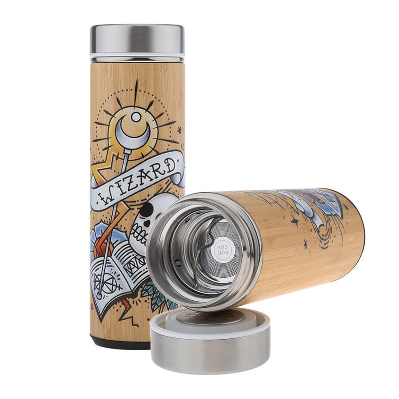 Thermos en Bambou <br> Wizard Design