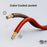 GearIT 10 Gauge Speaker Wire CCA - Copper Clad Aluminum, Translucent - GearIT
