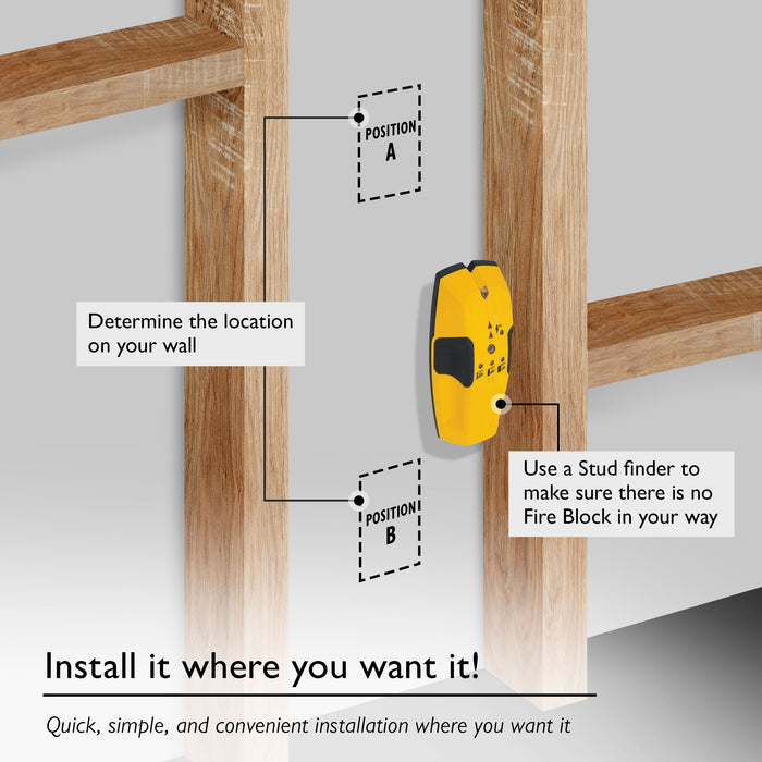 GearIT (3 Gang) Low Voltage Mounting Bracket, Multipurpose, Drywall Mounting - www.gearit.com
