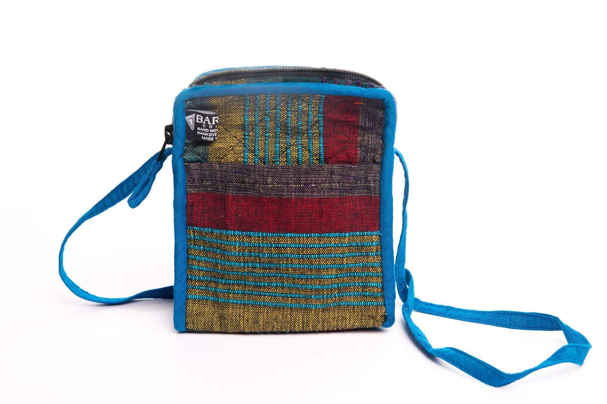 sustainable ethical handmade handloom slow-fashion Chootie Mini Crossbody Bag | Fawn made in sri lanka