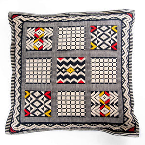 Handwoven Throw Pillow Cover